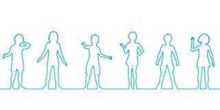 Desenvolvimento infantil ilustração do vetor