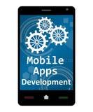 Desenvolvimento móvel de Apps Imagens de Stock