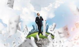 Desenvolvimento na direção certa imagem de stock royalty free