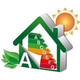Desenvolvimento sustentável do projeto home Foto de Stock Royalty Free