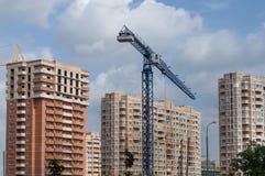 Desenvolvimento urbano novo imagem de stock