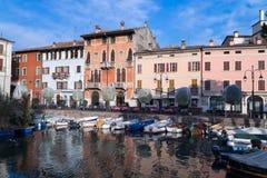 Desenzano, Garda lake, Italy Royalty Free Stock Images
