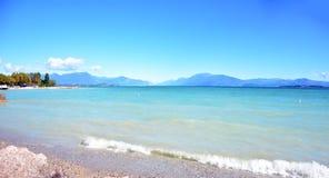 Desenzano Garda Lake Royalty Free Stock Photography