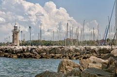 Desenzano harbour, Garda lake Stock Photography