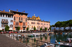 Desenzano Harbour, Lake Garda Royalty Free Stock Photos
