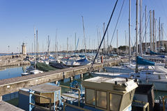 Desenzano Harbour, Lake Garda Stock Photography