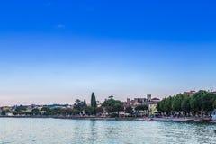 Desenzano jezioro Garda Obrazy Royalty Free