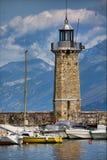 Desenzano lighthouse Royalty Free Stock Photography