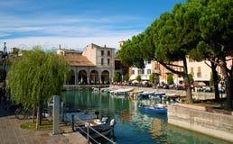 Desenzano schronienie, Jeziorny Garda zdjęcia stock