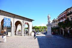 Desenzano street editorial Stock Photography