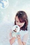 Deseo de la Navidad Foto de archivo