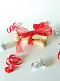 Deseo de la Navidad del perro Imágenes de archivo libres de regalías