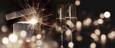 Deseos ardientes del Año Nuevo Imagen de archivo