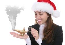 Deseos de la Navidad Imagenes de archivo
