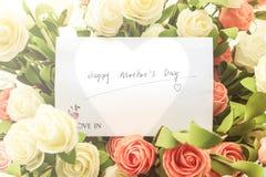 Deseos del día del ` s de la madre Fotos de archivo libres de regalías