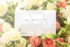 Deseos del día del ` s de la madre Imagen de archivo libre de regalías
