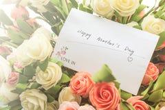 Deseos del día del ` s de la madre Foto de archivo