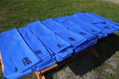 Deseos honorarios azules japoneses de los regalos Foto de archivo libre de regalías