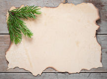 Deseos para la Navidad, espacio para el texto Imagen de archivo libre de regalías