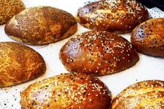 Deserów scones croissants asortowani cukierki Zdjęcie Royalty Free