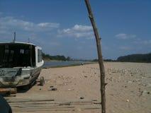 Deser plaża w rabatowym Argentyna Boliwia zdjęcia royalty free