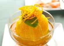 deserowa pomarańcze zdjęcie stock