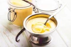 deserowa puddingu cukierki wanilia Fotografia Royalty Free