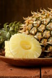 Deserowy ananas pokrajać Obraz Stock