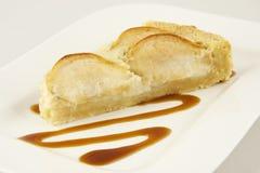 Deserowy Jabłczany kulebiak Obrazy Stock