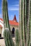 Deserowy kościół Obraz Royalty Free