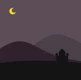 deserowy meczet royalty ilustracja