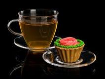 Deserowy wsad i herbata Obraz Stock