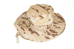 Desert´s military cap Royalty Free Stock Photo