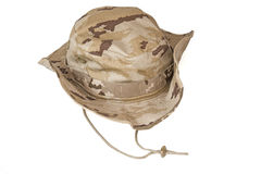 Desert´s military cap Stock Photos