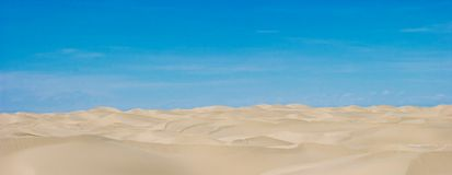 Desert. In xinjiang of china Stock Photography