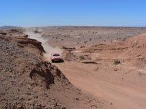 Desert. DAKAR 2011 - Stage 12 San Juan-Córdoba Stock Images