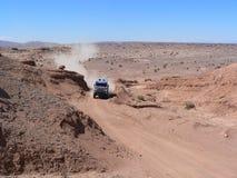 Desert. DAKAR 2011 - Stage 12 San Juan-Córdoba Stock Photo