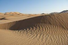 Desert. The sandy desert in the west Oman Stock Photo
