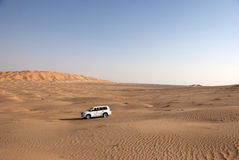 Desert. The sandy desert in the west Oman Stock Images