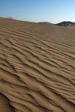 Desert. The sandy desert in the west Oman Stock Photos