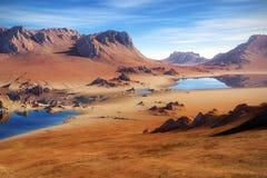 Desert. An image of a nice desert scenery vector illustration