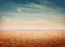 Desert. Landscape background global warming concept royalty free stock photo