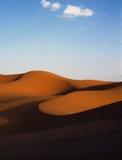 Desert. Dunes of desert sahara morocco Royalty Free Stock Images