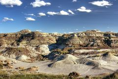 Desert. Badlands in Alberta (Kanada) near drumheller royalty free stock photography