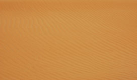 Desert. Shapes made by desert wind looks extraordinary Royalty Free Stock Photos