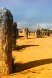 Desert. The pinnacles desert west-australia royalty free stock image