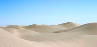 Desert. In xinjiang of china Royalty Free Stock Photos