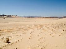 Desert. Landscape of the desert in Egypt stock image