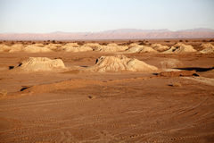 Desert in africa2. The desert in the south of morocco at sunset Royalty Free Stock Photography