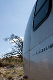 Desert Airstream Royalty Free Stock Photo